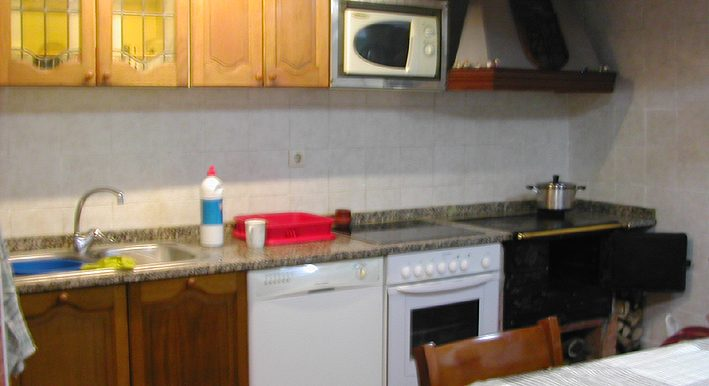 Zona Briviesca, cocina